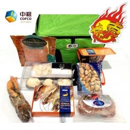 中粮进口海鲜礼盒(A款)大礼包礼品卡