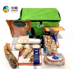 中粮进口海鲜礼盒(B款)大礼包礼品卡
