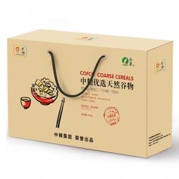 中粮食品(优选天然谷物礼盒)配送卡