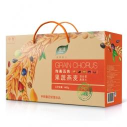 中粮食品-果蔬燕麦礼盒混合型礼盒 礼劵