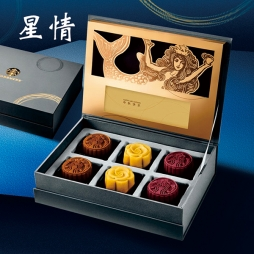 星巴克月饼(星情)八选一礼品卡全国配送