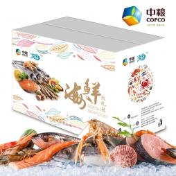 中粮凌鲜进口海鲜礼品卡A款礼盒 全国通用