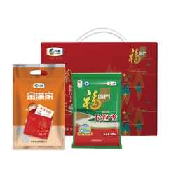 【中粮优选米组合】长粒香米+吉林小町米