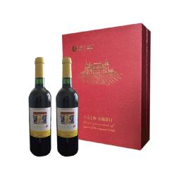 中粮法国进口卡普锐斯·香吻干红葡萄酒礼盒