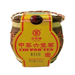 中粮中茶六堡茶萝装