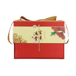 中粮富贵满堂大红袍茶礼盒