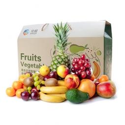 中粮家宴水果礼盒A款-水果卡北京配送